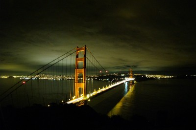 Golden Gate Bridge - a great place to visit and reflect on What are your dreams for the New year
