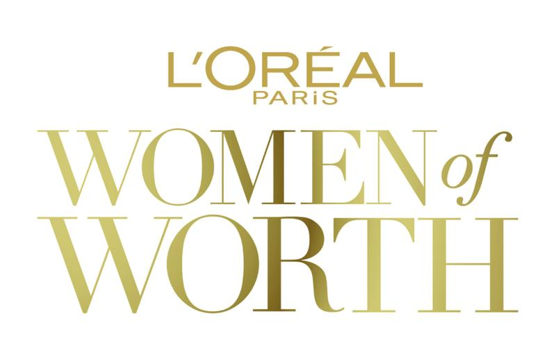 Celebrating Women of Worth: L'Oreal Paris Women of Worth Logo