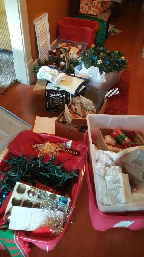 Christmas stuff after divorce
