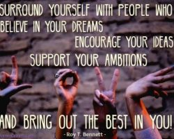 Dare To Use a Circle of Influence for Big Dream Achievements