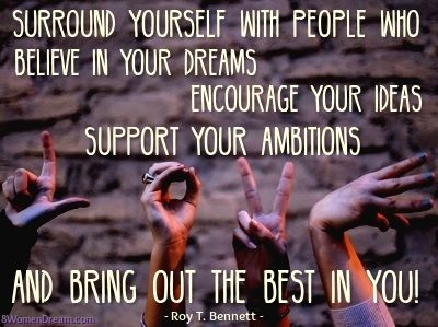 Circle of Influence for Big Dream Achievements: Quot by Roy Bennett