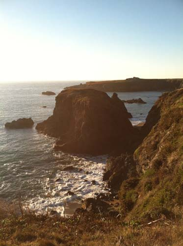Favorite place for developing dreams: The Pacific Coast or any coast