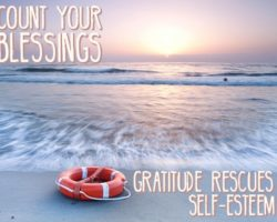 A Simple Confidence Building Exercise: Count Your Blessings