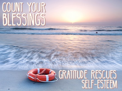 A Simple Confidence Building Exercise: Count Your Blessings Quote