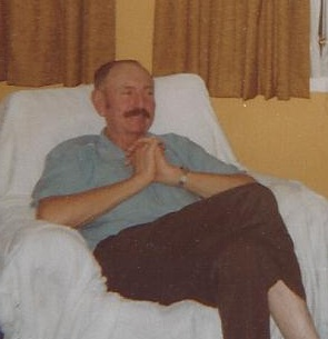 Father's Day Celebrations: Dad when he was sick
