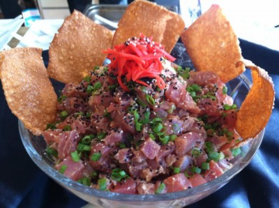 Do Not Give Up On What Moves and Excites You Ahi Tartare for my landlord