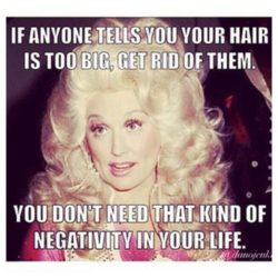 Refinery29 50 Best Online Beauty Memes Dolly Big Hair