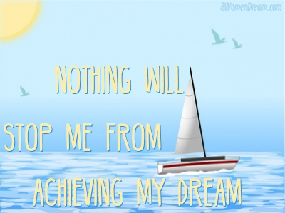 Dream Big Success Affirmations Nothing Will Stop Me Quote