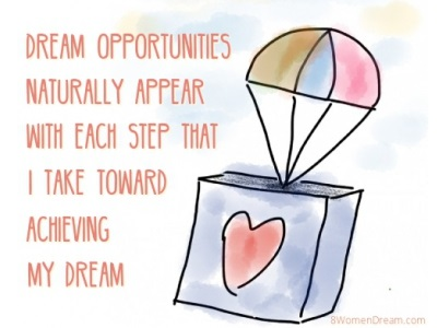 Dream Big Success Affirmations Opportunities Quote
