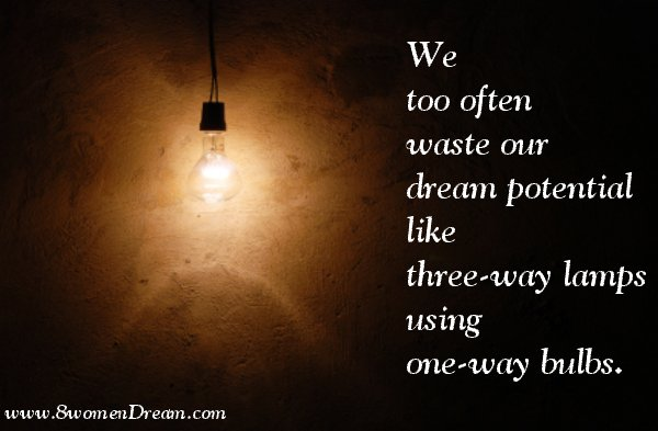 Motivational Picture Quote for Easter: Wasting Your Dream Potential