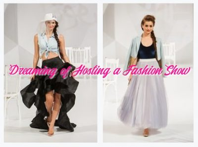 A Big Dream to Organize a Fashion Show