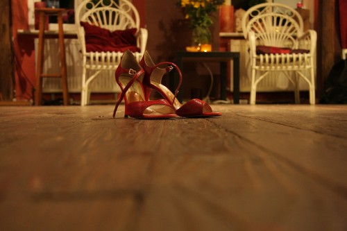 Finding Happiness While Dancing The Blues - Dance Shoes