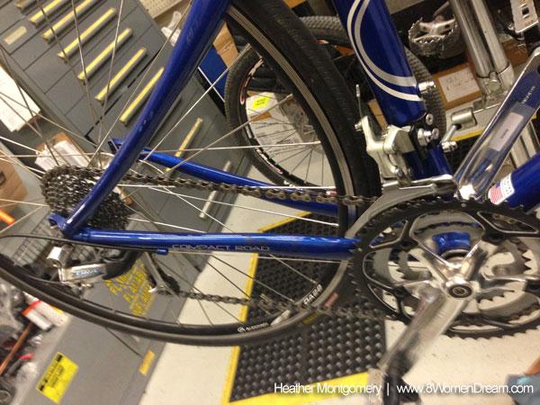 Fitness Challenge Bike Maintenance as a new skill