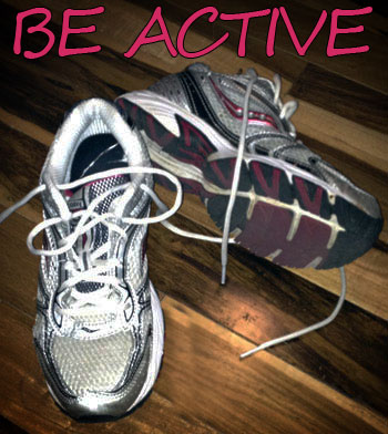 Be Active - Your fitness challenge from Heather Montgomery
