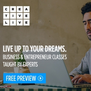 8 Gifts for the Workaholic: CreativeLive business and entrepreneur classes