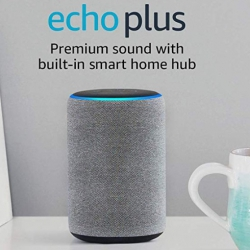 Gifts for the Workaholic Dreamer: Echo Plus Premium sound with built-in smart home hub on Amazon
