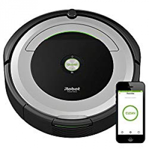 Gift ideas for Entrepreneurs: iRobot Roomba 690 Robot Vacuum with Wi-Fi Connectivity, Works with Alexa, Good for Pet Hair, Carpets, Hard Floors