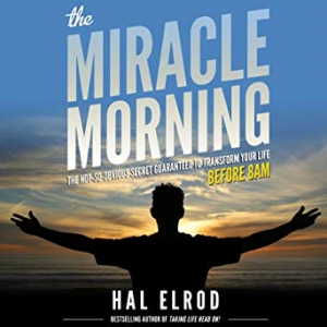 Gifts for the Entrepreneur: The Miracle Morning: The Not-So-Obvious Secret Guaranteed to Transform Your Life - Before 8AM Audible Audiobook on Amazon