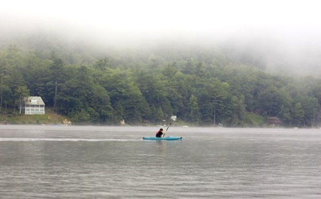 Girlfriend Getaways: Travel Dreams at Lake Morey Resort: Kayaking on Lake Morey