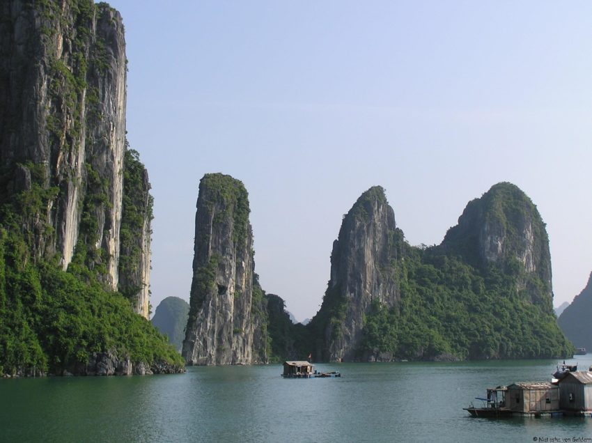8 Top Travel Gratitude Retreats: Ha Long Bay in Vietnam by Natasha von Geldern