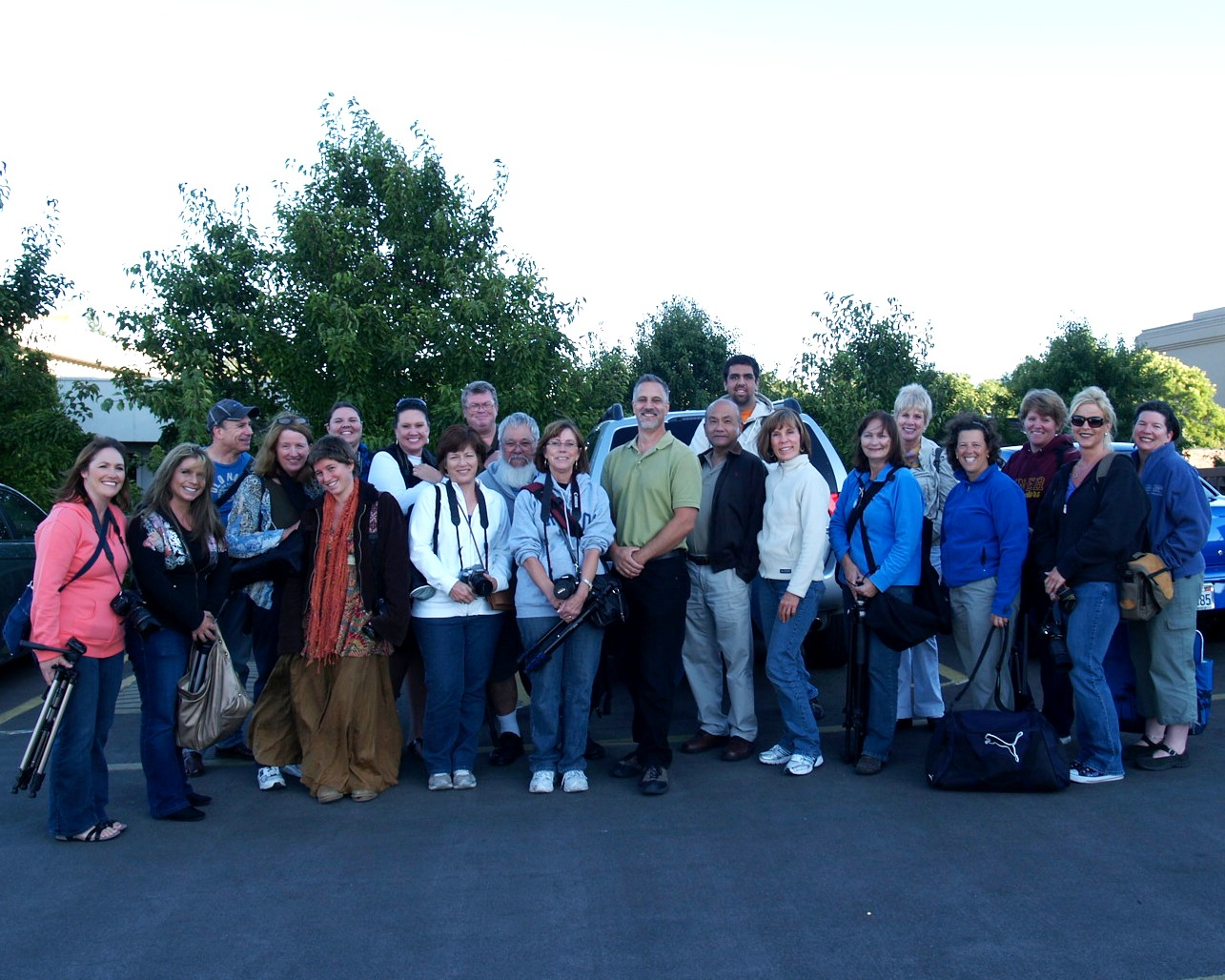 Photography Network: SoCoPhoGro together on a night shoot in Santa Rosa CA