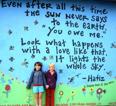 poem by the 14th century Persian poet Hafiz