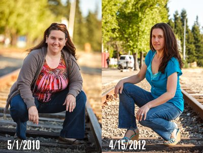 Heather Montgomery Before and After 85 Pound Weight loss