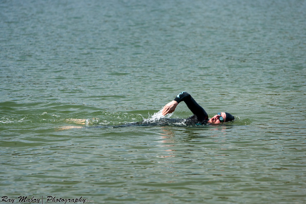 Open water swimming practice - Heather Montgomery