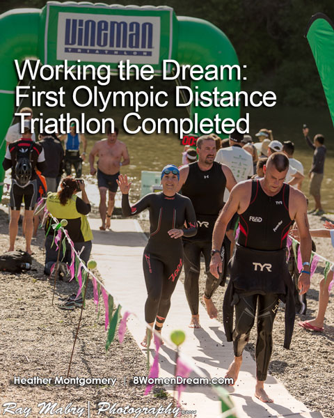 Heather Vineman Olympic Distance Triathlon - Working the Dream