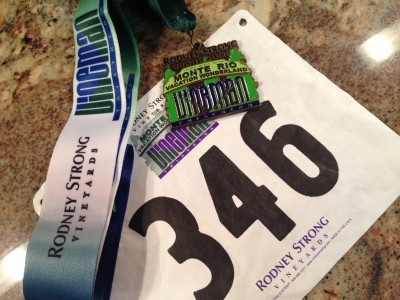 Heather - Vineman Olympic Distance Triathlon Medal