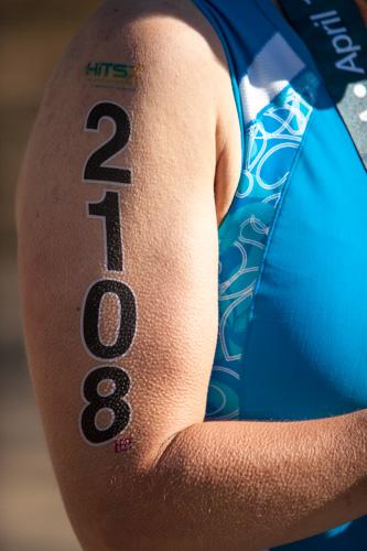 heather sprint tri race number