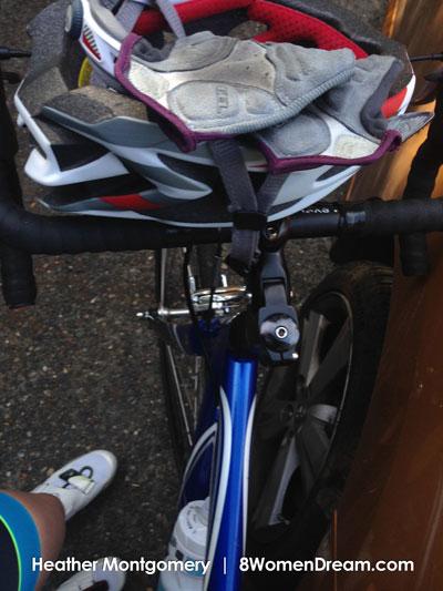 Heather triathlon training gear
