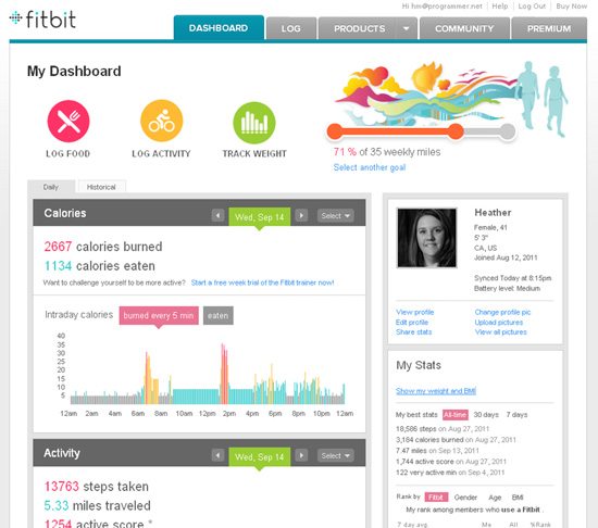 Fitbit: Getting Fit With A Bit Of Help | 8WomenDream