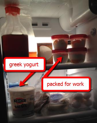greek yogurt a part of Heather's 75 pound weight loss