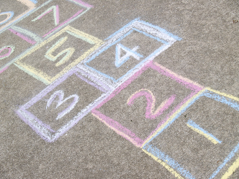 hopscotch your way to your dream