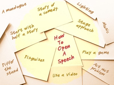 How to Open a Speech: 10 Great Speech Openings Notes