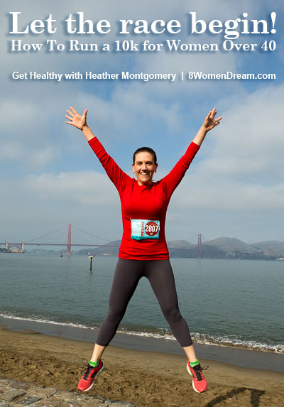 how to run a 10k for women over 40