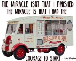 Does Your Dream to be a Triathlete Motivate You like an Ice Cream Truck?