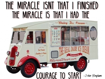 Dream to be a Triathlete - Motivation Like Chasing an Ice Cream Truck
