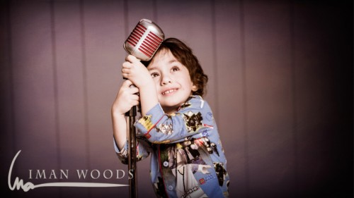 Building a photography studio: At one point in the song he just DID this. This kid is magic.