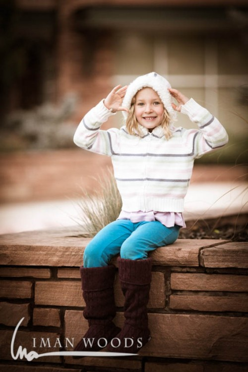 Preserving Childhood - Showing off her Fall fashion