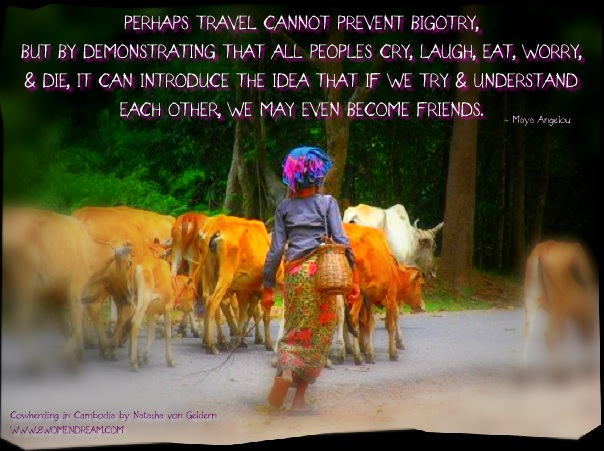 8 Most Inspiring Quotes About Travel - Travel quote by Maya Angelou