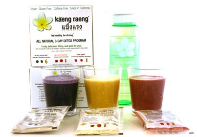 Kaeng Raeng Shakes Detox Cleanse