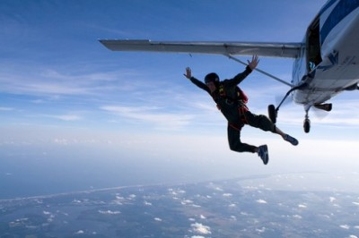 Leap of Faith to Live Our Dreams: Skydyving