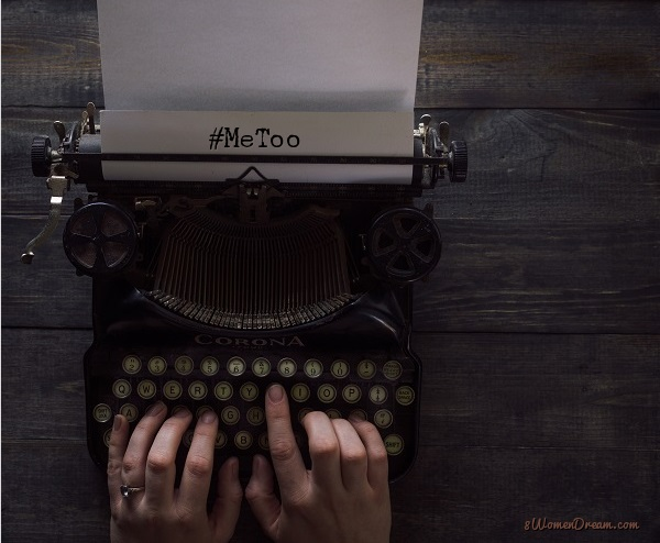 When #MeToo Stories Help Women Heal to Live Their Dreams typewriter