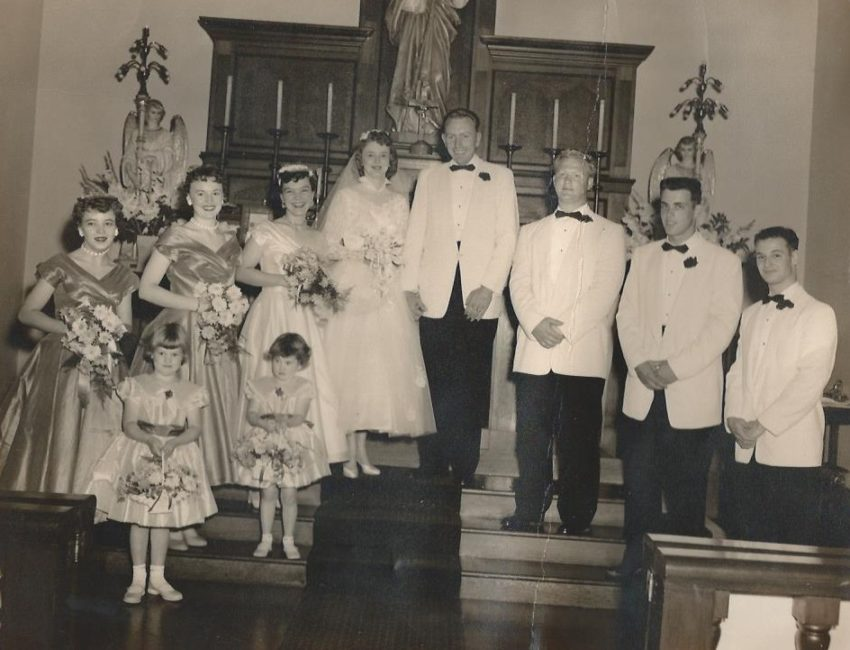 A Memorial Day remembrance-- Mom and dad's wedding