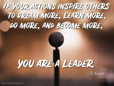 Dream of Being a Motivational Speaker - Leadership quote