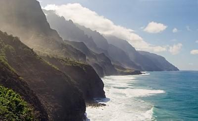 Dream Lessons From the Na Pali Coast Trail in Kauai, Hawaii: Na pali coast stunning views