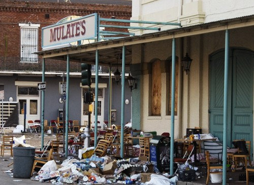 Making Something from nothing: Mulate's Restaurant after Hurricane Katrina
