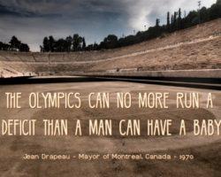 Big Olympic Dreams Mean Big Olympic Spending
